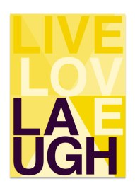 live_love_laugh_gul_a3_aid_collection